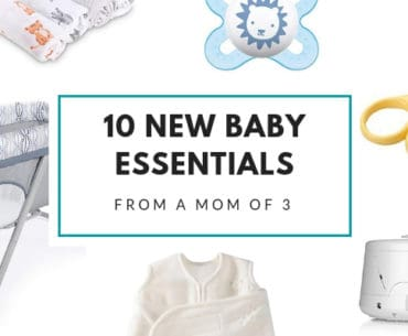 10 new baby essential products from a mom of three