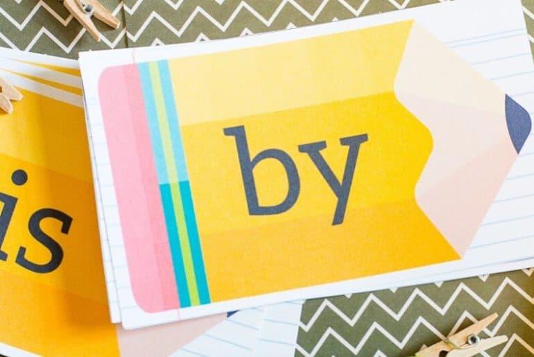 100 Kindergarten Sight Words Printable