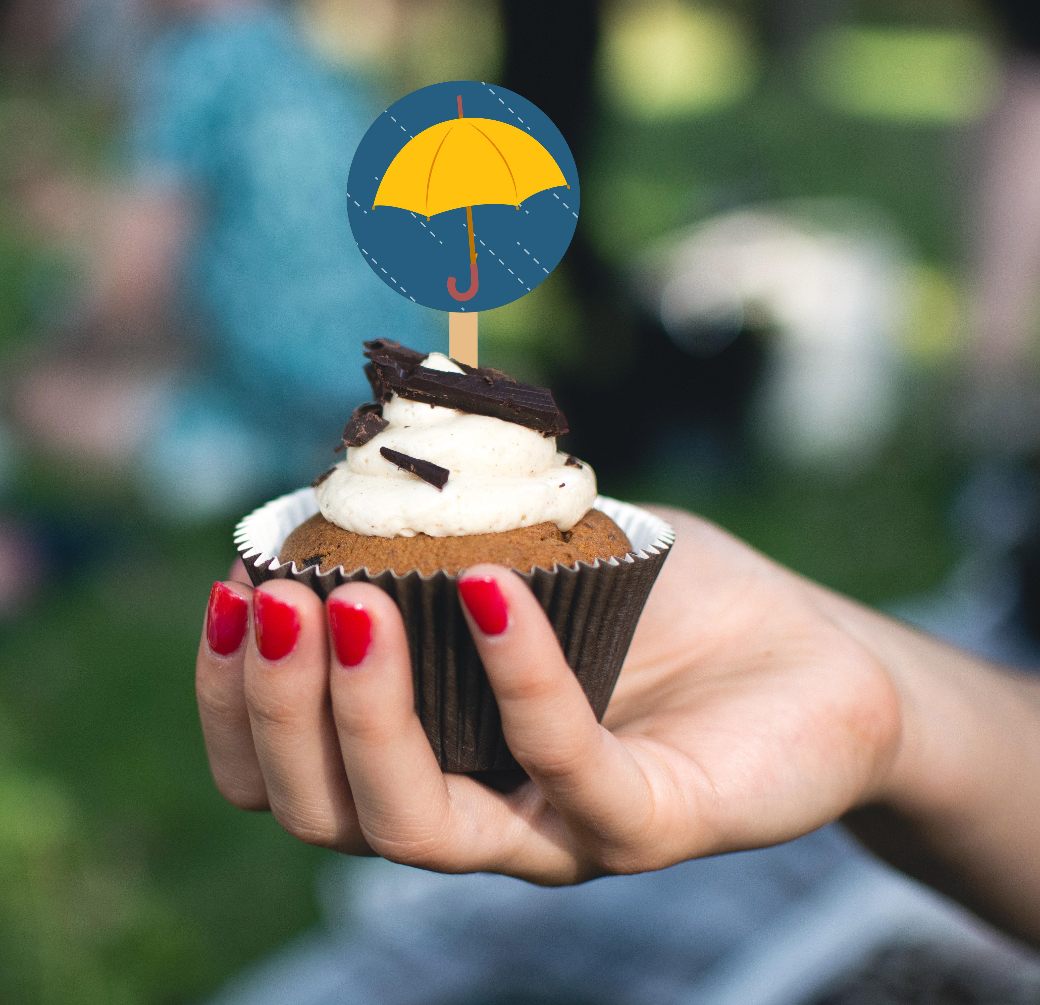 rain_cupcake_topper