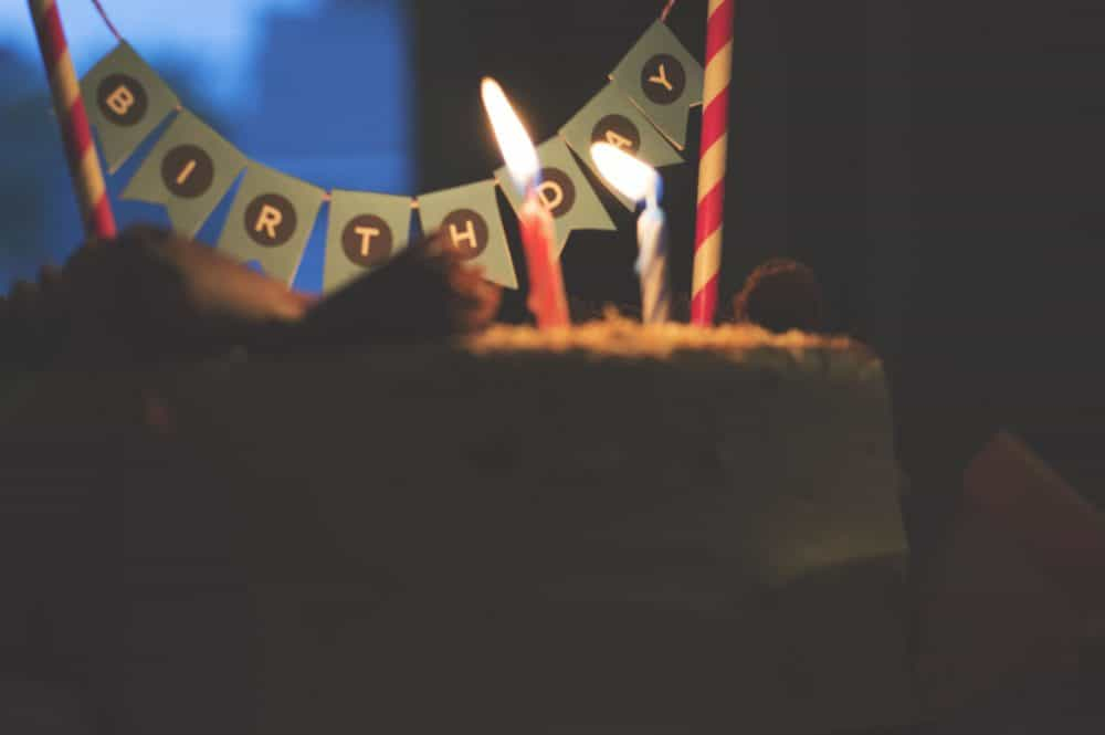 Abstract Mini Cake Bunting by Elva M Design Studio