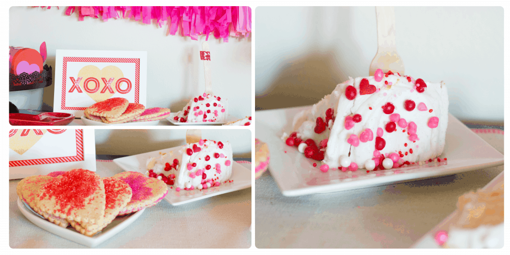 """Love"" Valentine's Day Party Treats"