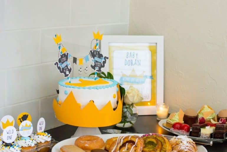 Where the Wild Things Are Baby Shower Dessert