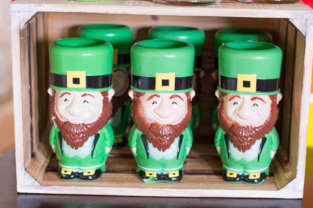Leprechaun Cups from Oriental Trading