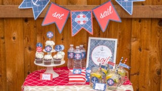 Set Sail: Nautical Party Printables
