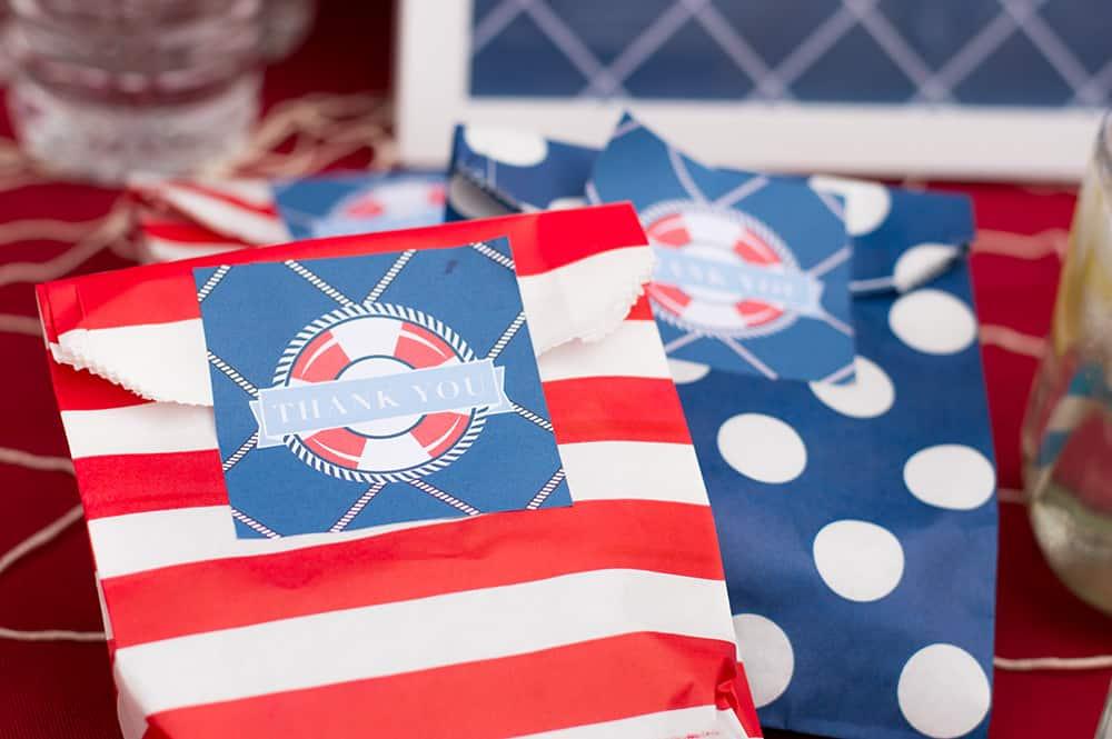 nautical theme printables