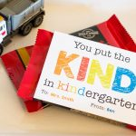 Free Kindergarten Teacher Appreciation Gift Tag
