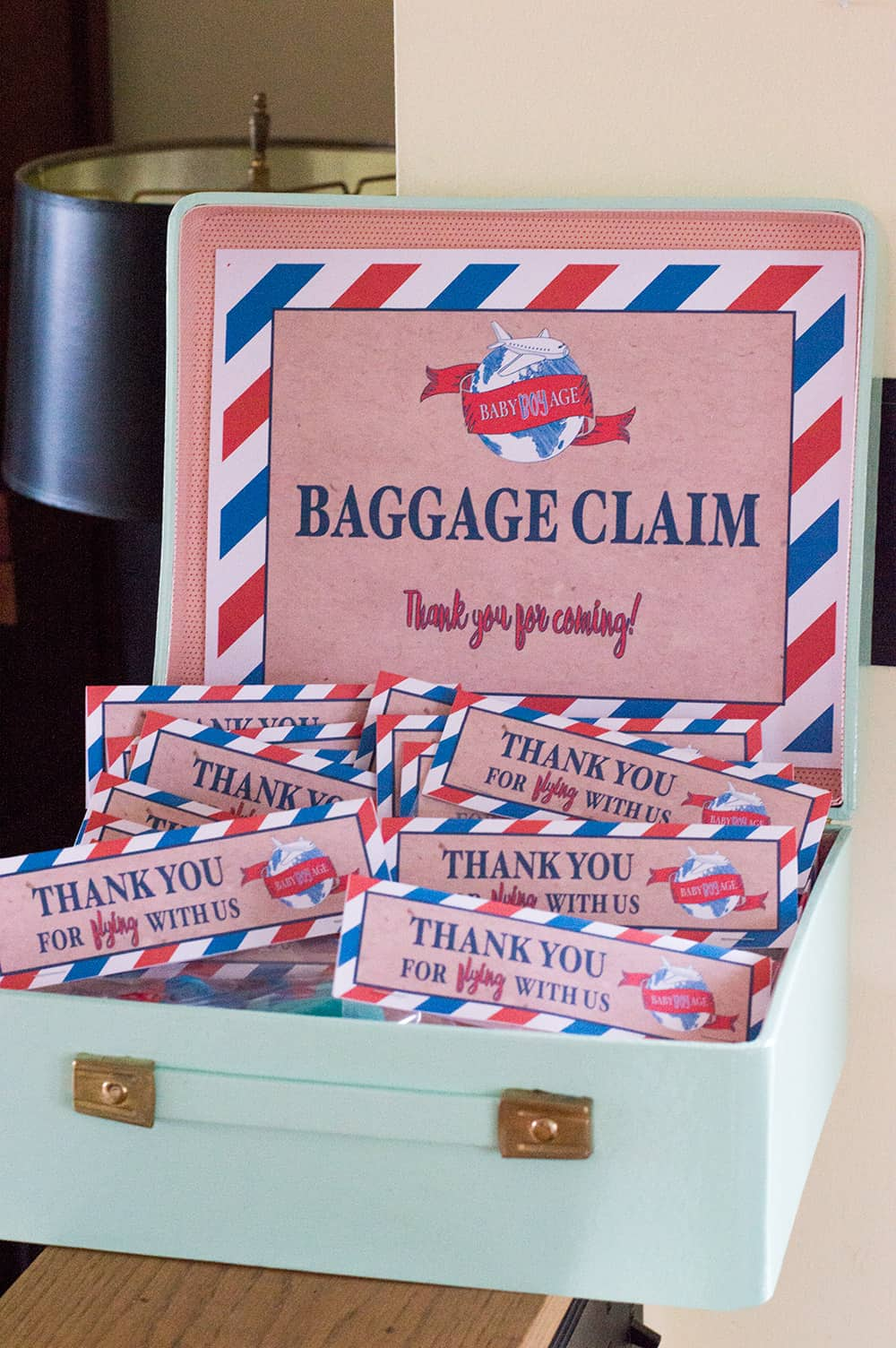 Baggage Claim Baby Shower Favors