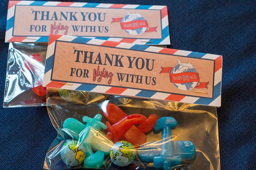 Travel Theme Baby Shower Favors