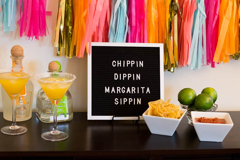 Chippin, Dippin, and Margarita Sippin Fiesta