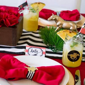 Kentucky Derby Party with Free Printables