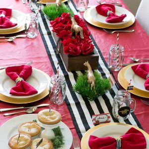 Kentucky Derby Party Tablescape