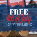 America, America: Printable 4th of July Decor