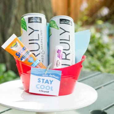 Sips and Poolside Dips: Hostess Gift