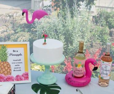 Pineapple Flamingo Party