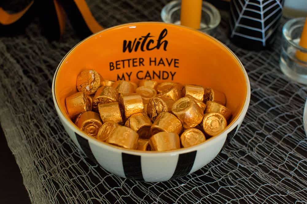 Witch better have my candy bowl from Target, and styled by Elva M Design Studio