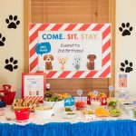 Puppy Party Hot Dog Bar