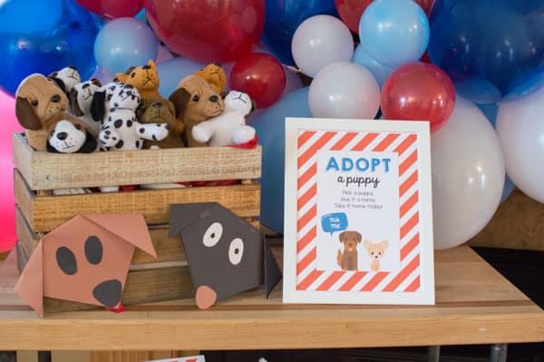 Adopt a Puppy Styled by Elva M Design Studio