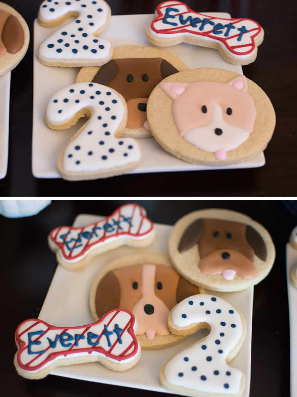 Puppy Party Sugar Cookies from Amy's Cupcake Shoppe