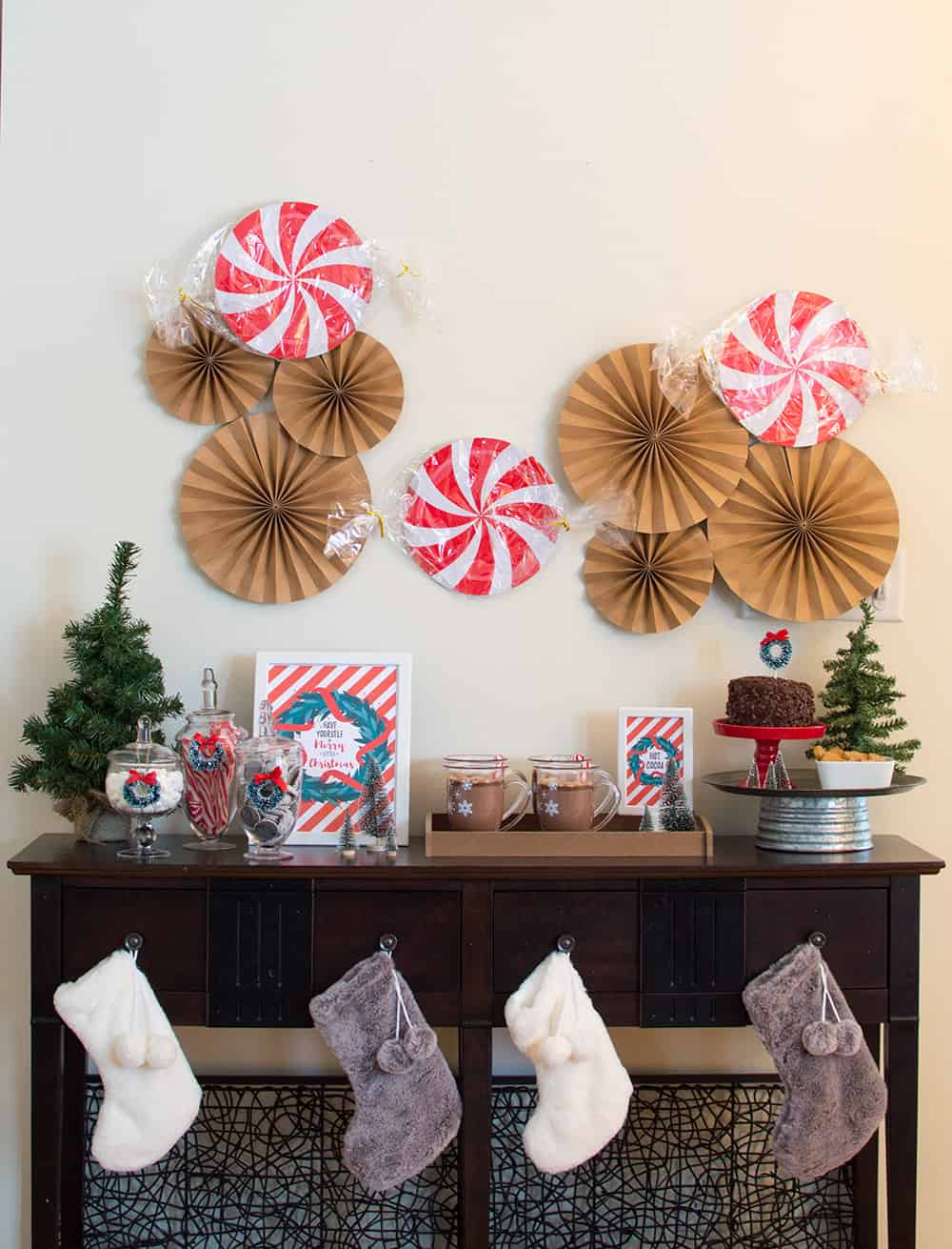 Holiday Hot Cocoa Party Styling by Elva M Design Studio