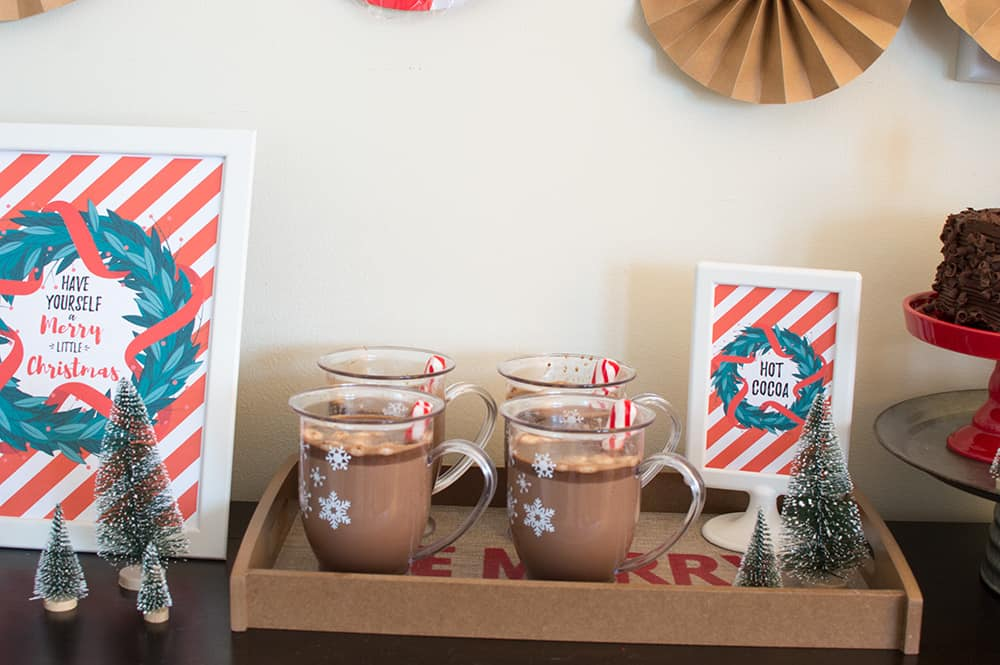 Holiday Hot Cocoa Cups from Oriental Trading
