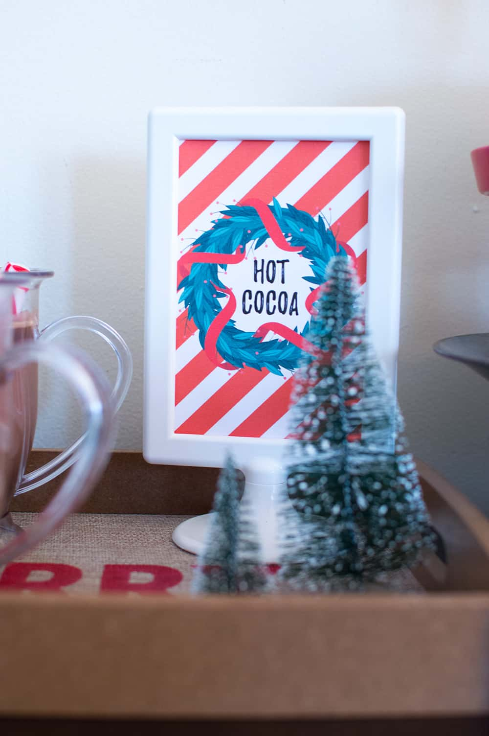 Hot Cocoa Sign from Elva M Design Studio