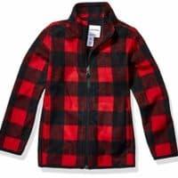 Amazon Essentials Boy's Toddler Full-Zip Polar Fleece Jacket