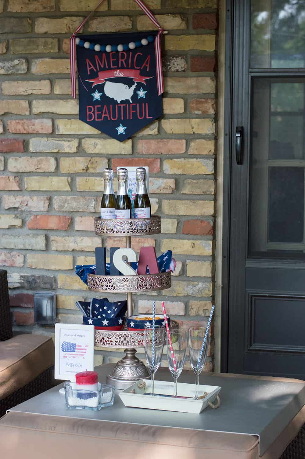 4th of July Happy Hour by Elva M Design Studio