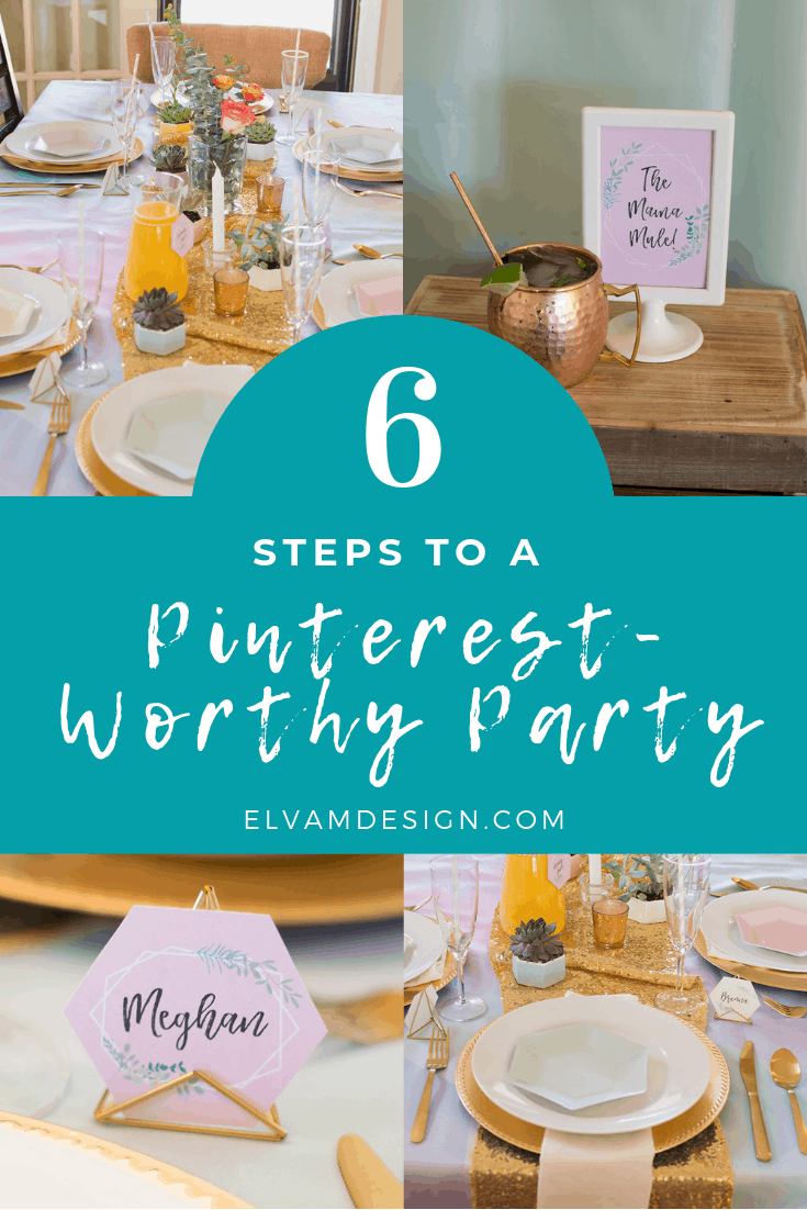 Party planning tips: 6 steps to a Pinterest-worthy party