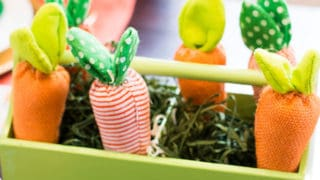 Carrot Patch Easter Party with FREE Printables