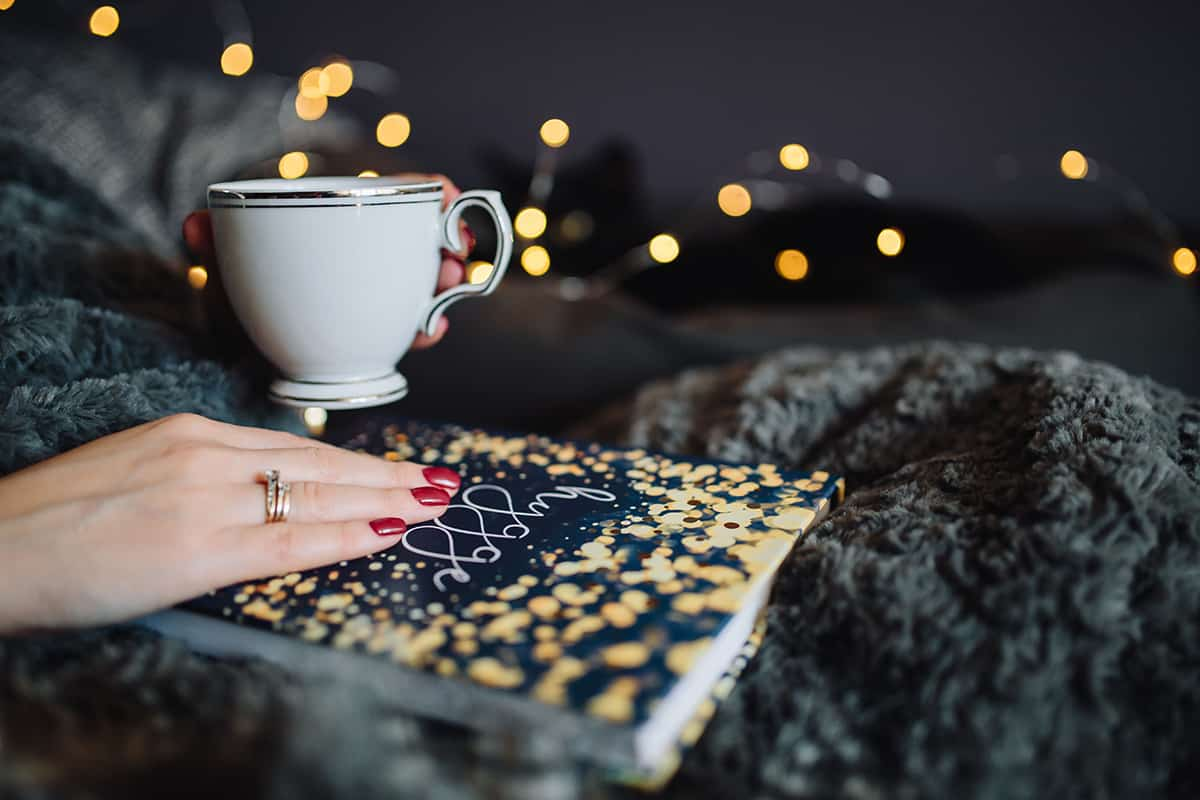 Cozy up with a book about Hygge