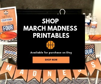 Shop these March Madness Party Printables