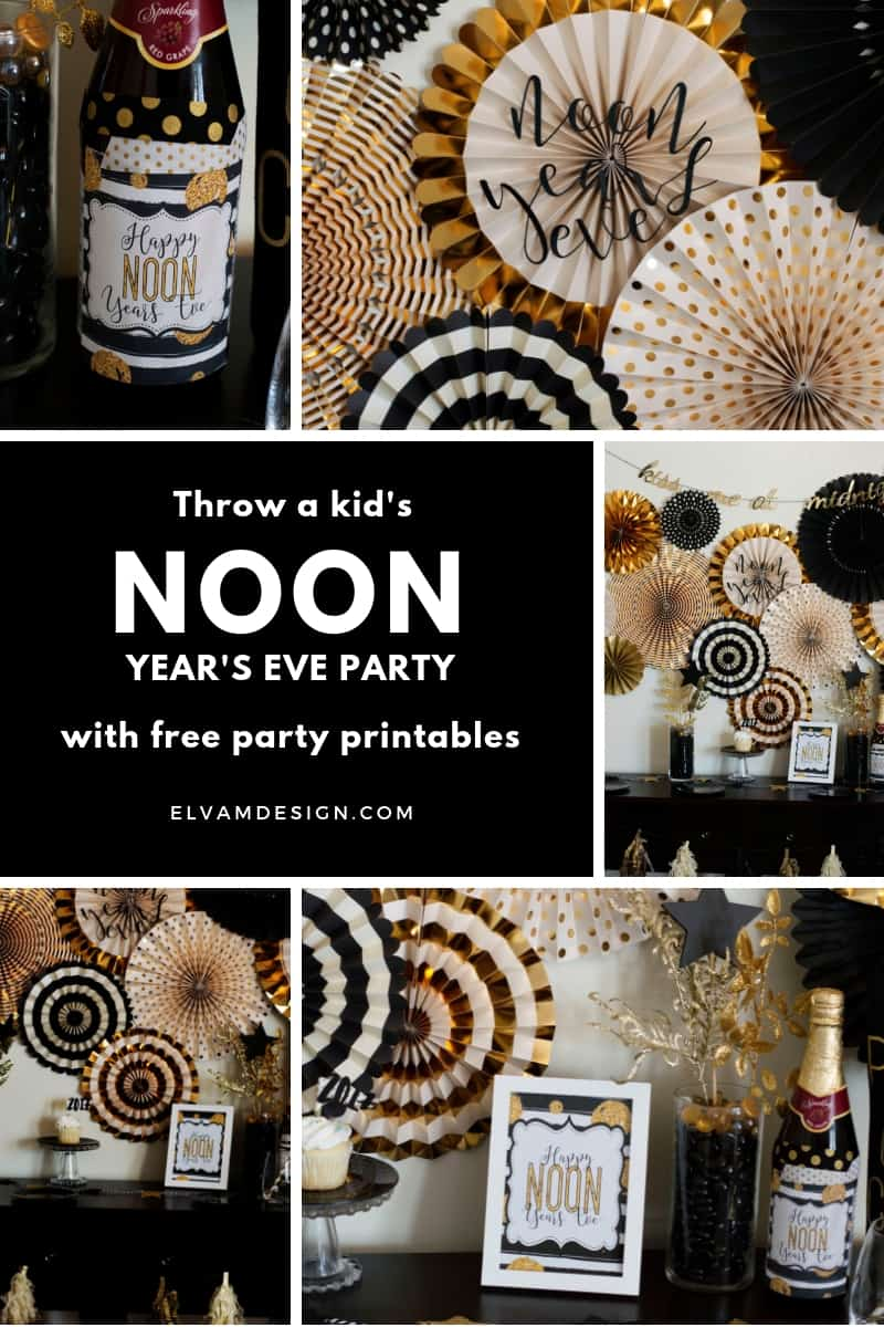 Free New Year's Eve Party Printables