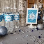 """Let It Snow"" Winter Wonderland Holiday Party with Free Printables"