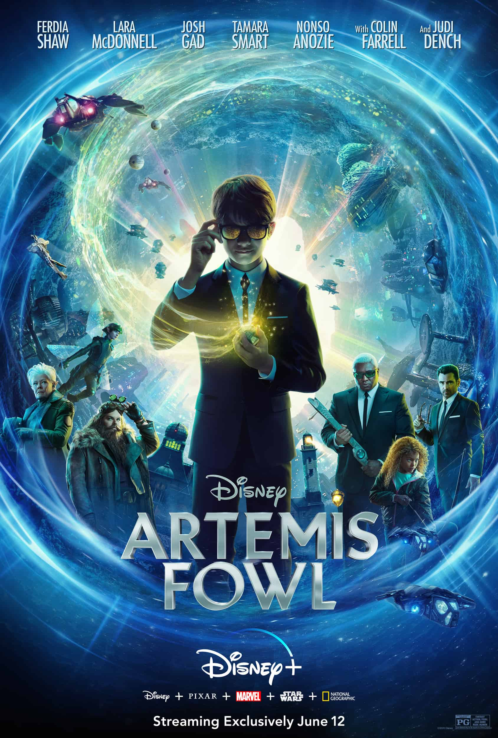 Artemis Fowl on Disney Plus