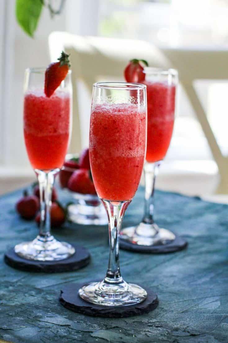 Frozen Wine Slush Cocktail