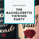 Free Printables to Throw a Bachelorette Viewing Party