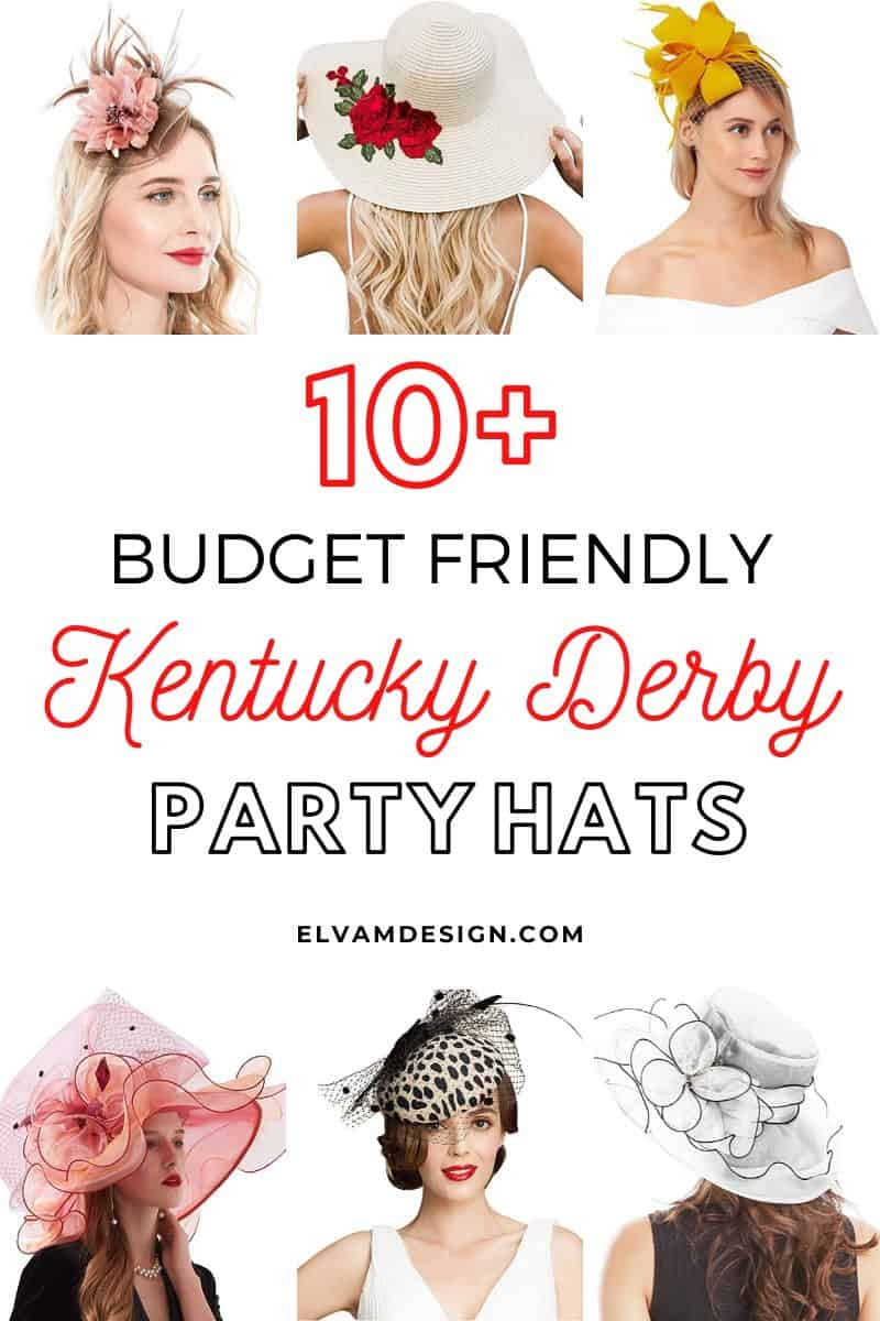 Budget Friendly Kentucky Derby Party Hats