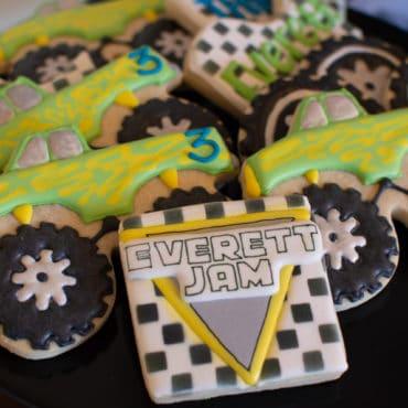 """Monster Truck """"Monster Jam"""" Birthday Party"""