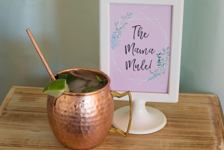Mama Mule cocktail