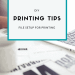 File Setup for Printing
