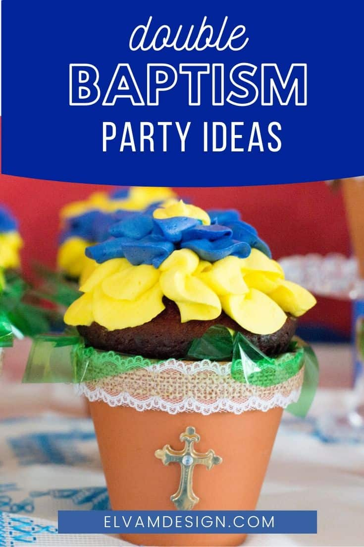 double baptism party ideas