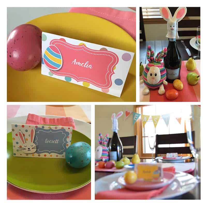 Easter Table Place Cards