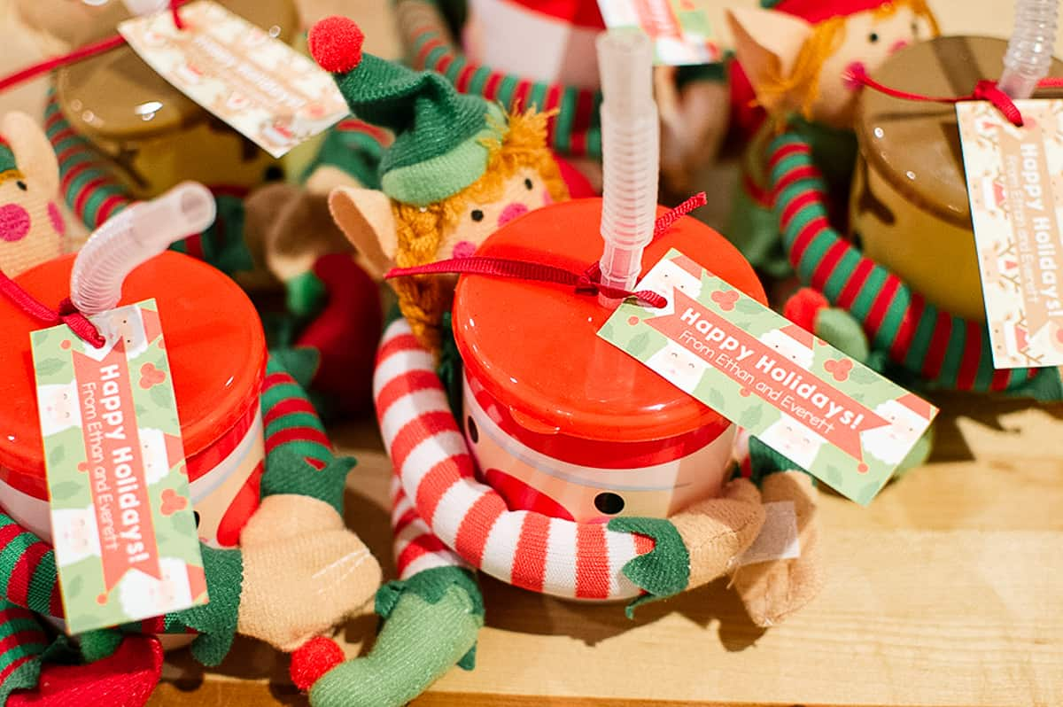 Elf gifts with free printable