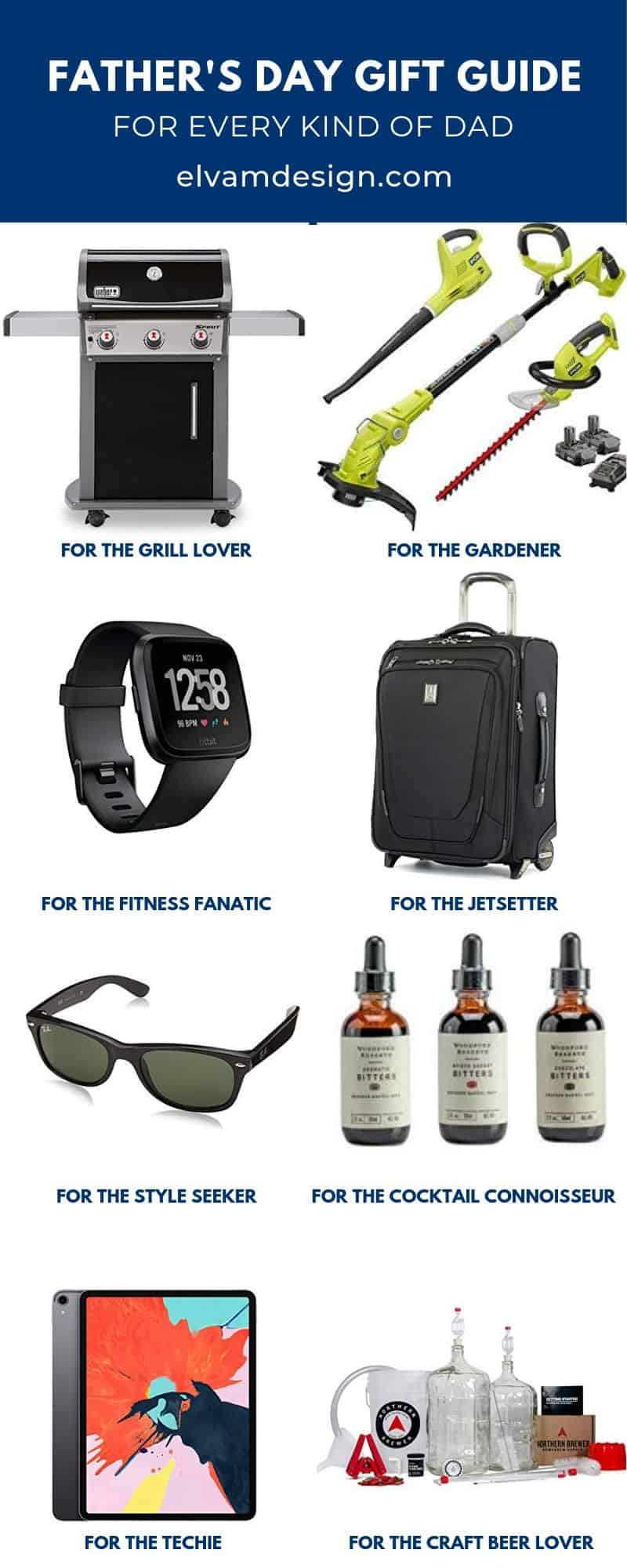 Father's Day Gift Guide for every kind of dad