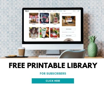 Access the Free Printable Library from Elva M Design Studio