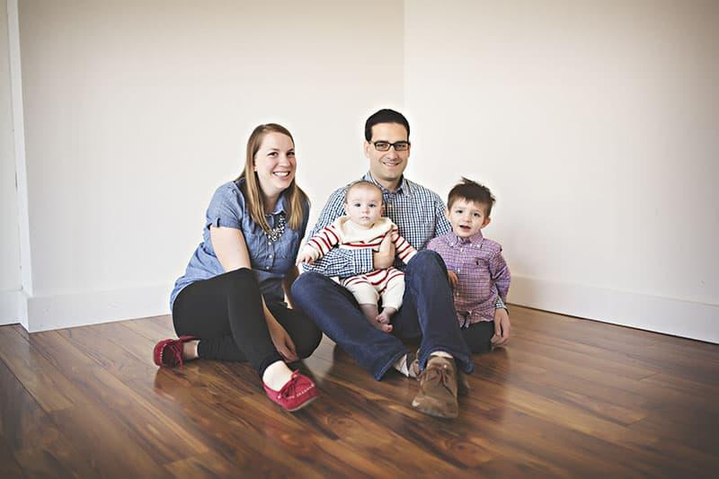 family photos too many patterns