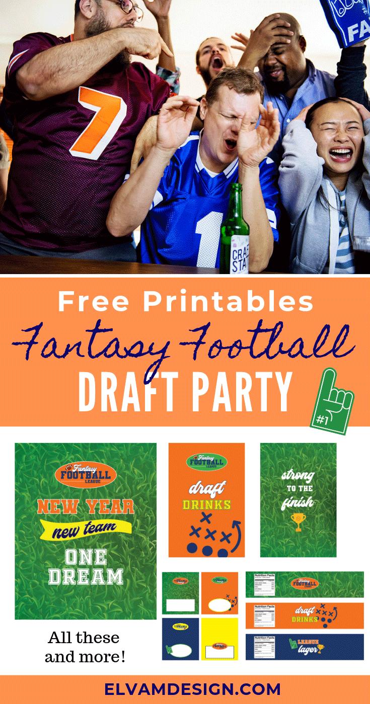 Fantasy Football League Draft Party
