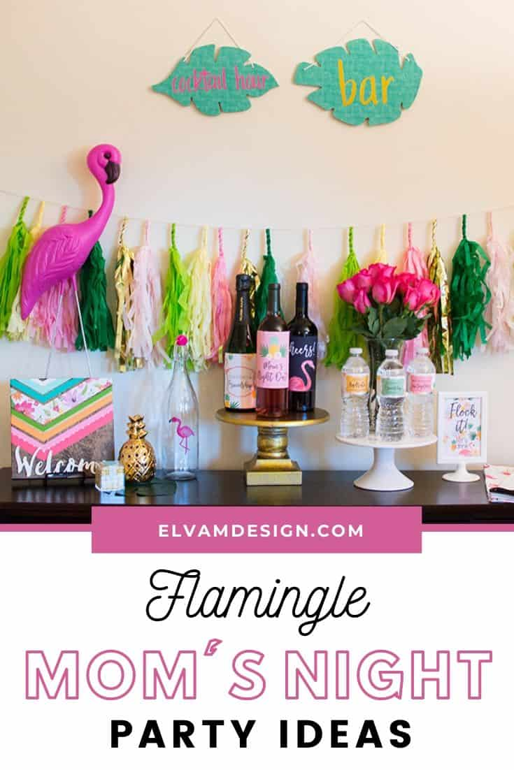 Flamingle Mom's Night Out Party Ideas