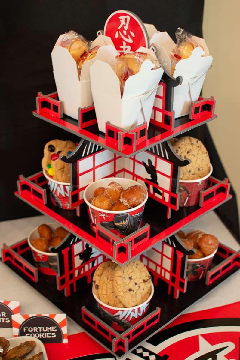 Oriental Trading Ninja Cupcake Stand