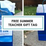 Free Summer Gift Tag for Teachers